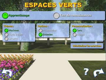 Espaces verts logiciels informatiques pour handicap for Travail espace vert
