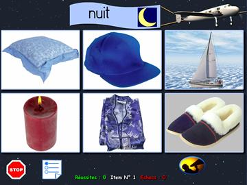 """""""Jour/nuit"""" - Association d'objets"""