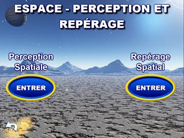 ESPACE - PERCEPTION ET REPERAGE