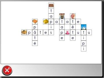 Exemple de grille pré-définie