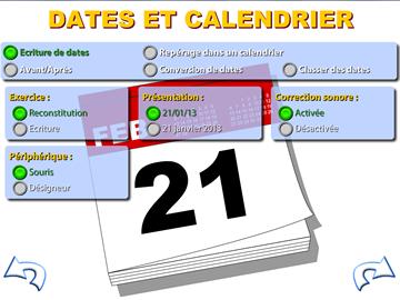 Notions temporelles - Dates et calendriers